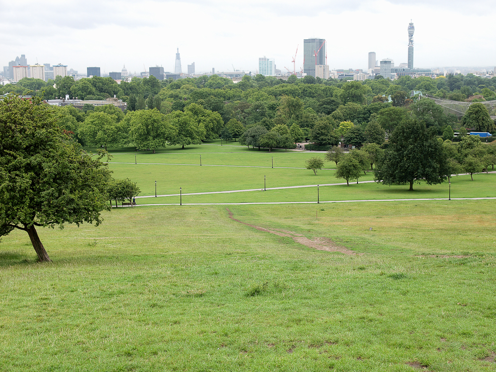 Primrose Hill Park in London