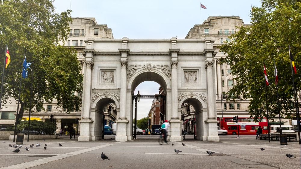 Marble Arch London, UK
