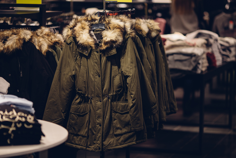 winter clothing store