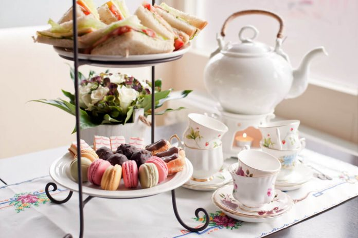 High Tea – traditional afternoon tea