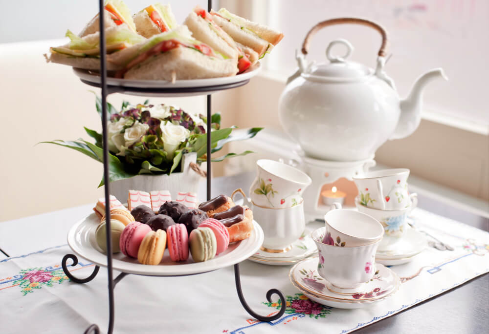High Tea - traditional afternoon tea
